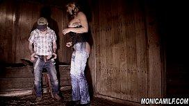 Dirty femdom barn girl...