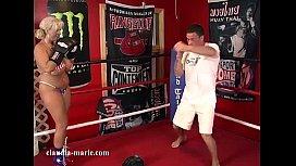 Claudia Marie Punching Bags...