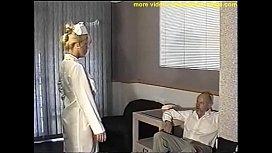 Busty nurse ball gagged...