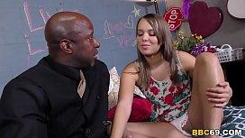 Liza Rowe Interracial Threesome...