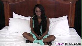Ebony slut gets fucked...