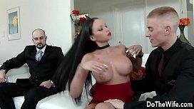 Beautiful brunette wife Raven...
