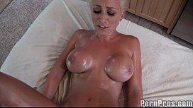 Lexi Busty Blonde Massage...