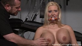 Busty german slave Melanie...