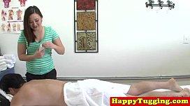 Real asian masseuse