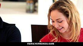 FamilyStrokes - Step Sister Sucks...