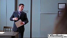 Office Big Tits Girl...