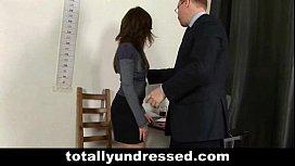Secretary's naked...