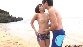 Saya Tachibana takes cock in each of her holes