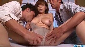 Huge tits Airu Oshima...