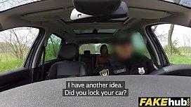Fake Cop Cop cums...