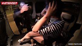 LETSDOEIT - Lucky Uber Driver Fucks Hard His Petite Client (Shrima Malati)
