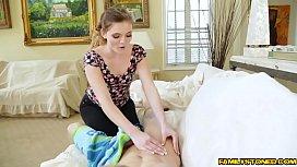 Stacey Lean deep throat...