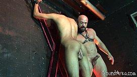 Bald studly master scores...