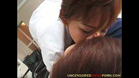 Uncensored Japanese MILF porn...