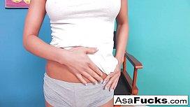 Asa looks sexy in...