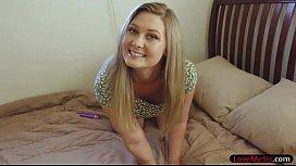 Round ass blondie teen...