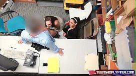 Teen thief gets saved...