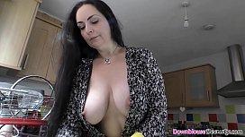 Big beautiful tits brunette...