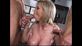 Nikki Benz threesome