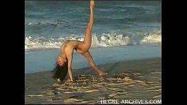 Nude Beach Yoga.avi...