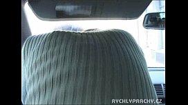 Cogiendo en el auto...