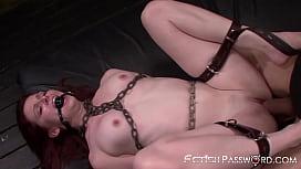 BDSM redhead Emma Evins...