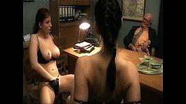 Ashley Robbins lesbian show...