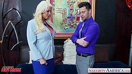 Blonde mom Alura Jenson...