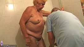OldNanny Old Chubby lady...