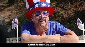 FamilyStrokes - Sexy Milf Joins...