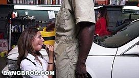 BANGBROS - Mechanic Has The...