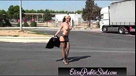 Elisa Public Slut Flashing...