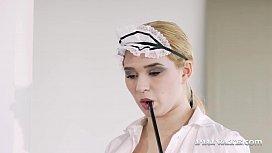 Sexy Teen Maid Mia...