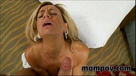 Big tit milf with...