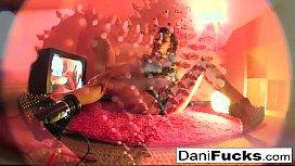 Dani Daniels gets off...