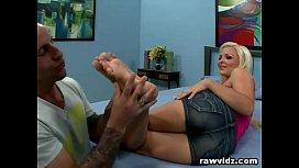 Jenna Lovely Foot Fetish...