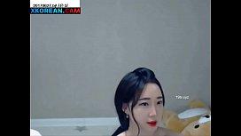 Beautiful korean girl with...