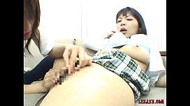 Asian Office Girls Sucking...