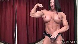 Female Bodybuilder Angela Salvagno...