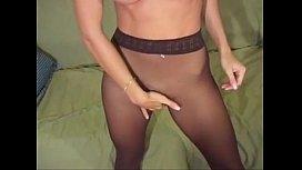 Jana Cova pantyhose action...
