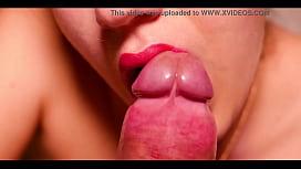 Blowjob and Swallow Closeup - Cristall Gloss fernanda romo de vivar