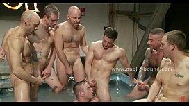 Gay boy brought tied...