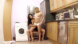 Hot lesbian fun with...