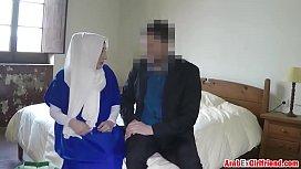 Arab girl fucked hard in the hotel room ponehub