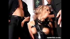 Blonde Slut Ball Gag...