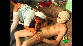 A sexy nurse takes...