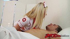 Sexy nurse Annika Albright...