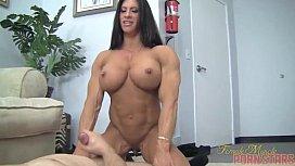 Naked Woman Bodybuilder Angela Salvagno