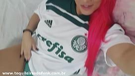 Débora Fantine - Gostosa no Brasileirão - Homenagem ao Líder Palmeiras dark panthera